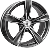 1000 Miglia MM033 Anthracite Polished 17""